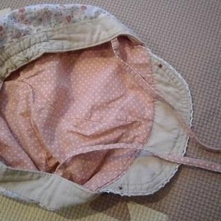 女の子 夏用帽子2個セット(48センチ&52センチ)(投稿管理番号:89) - 子供用品