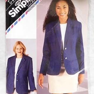 ジャケット型紙(新品)