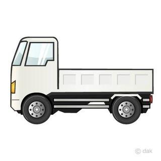 西院発1日5時間 タイルの配達2トン平車トラックドライバー