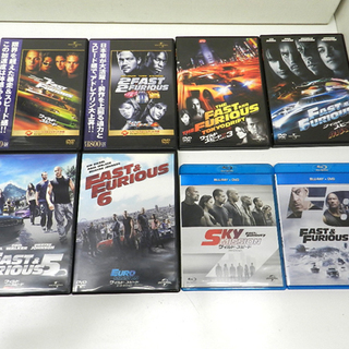 ワイルド・スピード DVD Blu-ray 全8巻 まとめて ワ...