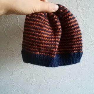 無料 未使用 帽子 赤ちゃん ベビー 子供 ハンドメイド 毛糸