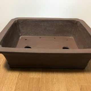 大型 盆栽鉢 九龍製陶 寸法(約)46×37×14cm