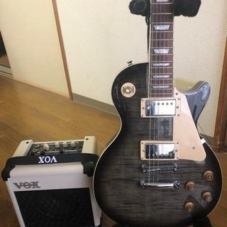 エレキギターとアンプ(決まりました)