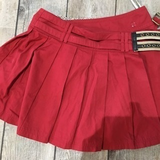 バーバリーBurberry巻きスカート(36)
