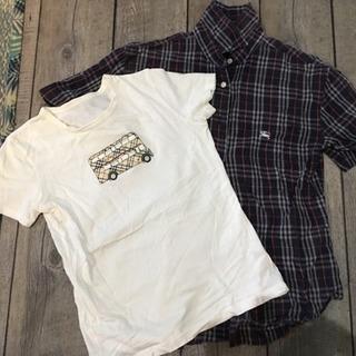 BurberryバーバリーシャツとTシャツセット