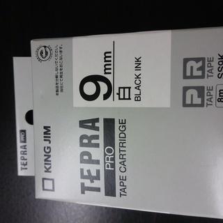 テプラテープ TEPRA 9mm 白 SS9K カートリッジ テプ...