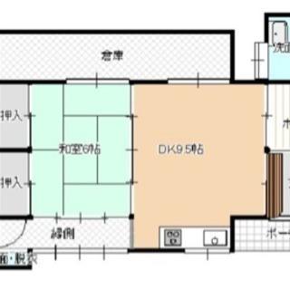 倉吉市に一戸建て賃貸、値下げしました!