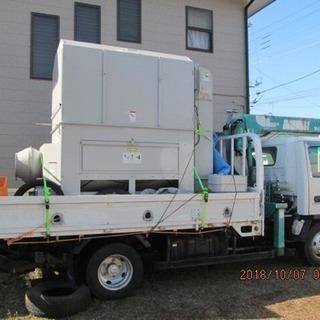 重量物  農機具 クレーン、パワーゲートで輸送します。
