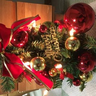 クリスマスツリー 中古品 高さ40cm
