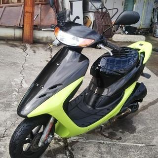 ☆☆ホンダライブディオZX AF35 黒/黄緑 本物ZX初期型社...