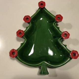 ★クリスマス★北欧で買ったクリスマスツリー型のキャンドルスタンド...