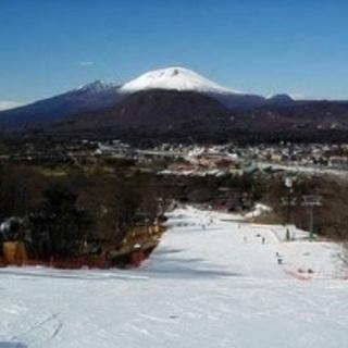 軽井沢で一緒にスノボーしましょう!