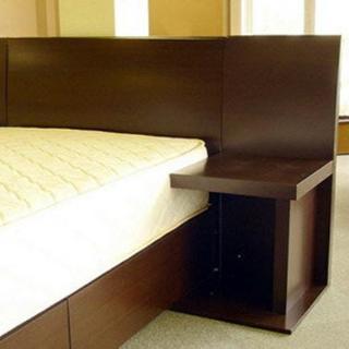 ダブルサイズベッド+ポケットコイルマットレス 10万円相当