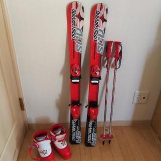 スキー板100センチ、スキー靴17センチ