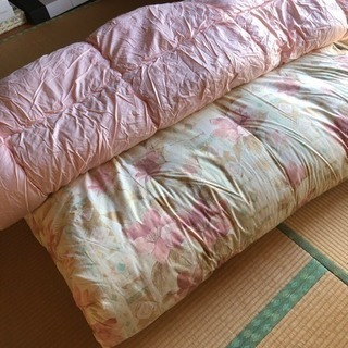 布団 セミダブル  綿のフトン