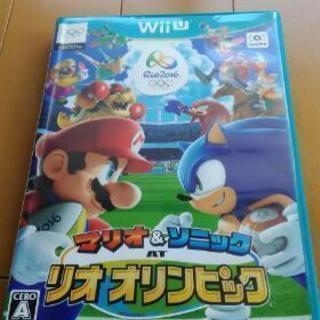 WiiU  マリオ&ソニックATリオオリンピック