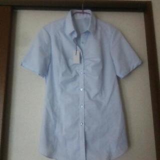 未使用 通勤用半袖シャツ(レディース)