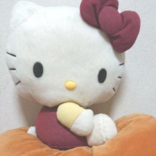 【お話中】キティちゃん ぬいぐるみ