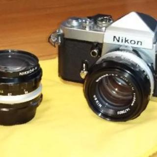 ニコンF2 (レンズ二本もセットです)