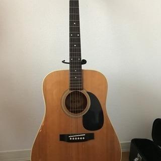 MORRISのアコースティックギター 美品