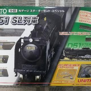 鉄道模型 D51 SL列車