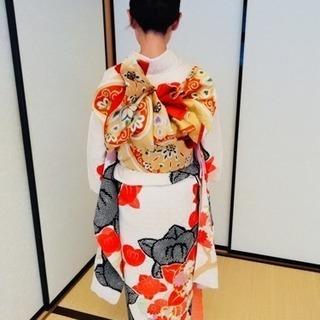着付け体験レッスン2500円☆着物デビューコース新設☆オーダーレッ...