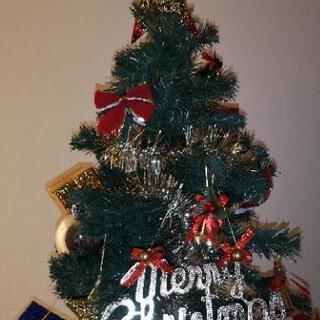 《値下げ》クリスマスツリー飾り付き!
