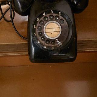 🎶レトロな黒電話☎️