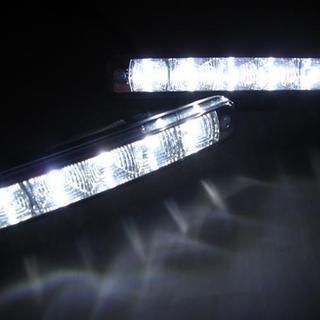 LEDデイライト ランニングライト 5連 ホワイト