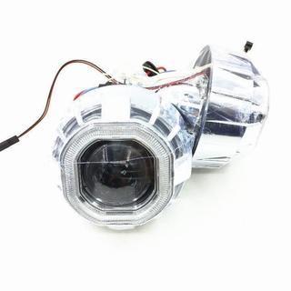 HID プロジェクター 3.0インチ H4 CCFL リング 付...