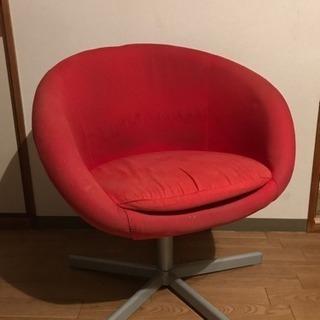 あげます IKEA SKURVSTA イケア スクルーヴスタ 回転椅子