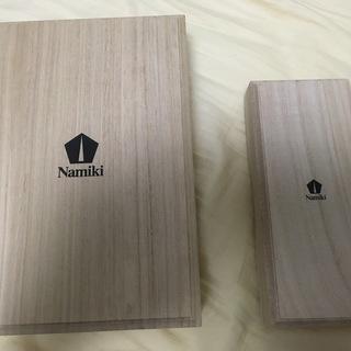 万年筆 Namiki 木箱 2個