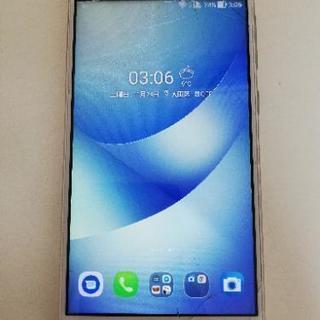 【画面割れ】simフリーZenfone4 MAX ZC520KL...