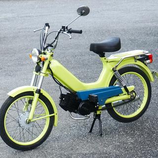 TOMOS Classic トモス 明るい黄色に塗装 調子良く動...