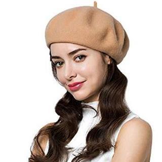 ベージュ★ベレー帽★