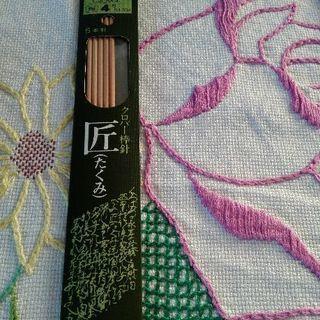 編み物(その6)クロバー4号棒針 未使用