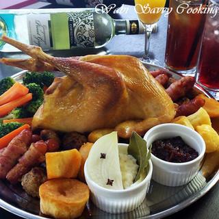 クリスマス料理教室・ポットローストチキンと英国のクリスマス料理