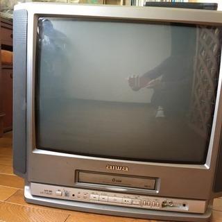 テレビデオ  21インチ aiwa