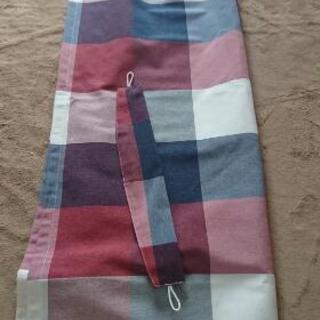 カーテン 幅100cm×丈140cm ニトリカーテン 2枚