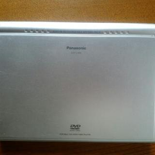 商談確定 PanasonicポータブルDVDプレーヤー