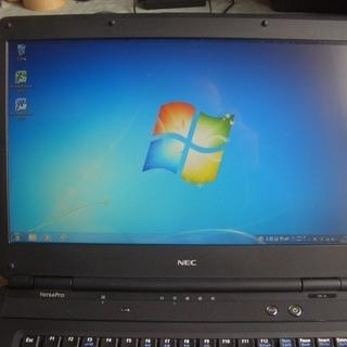 Windows7  ノートパソコン NEC  PC-VY2…