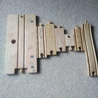 木製レールセットとトーマス達(再度値下げしました) − 京都府
