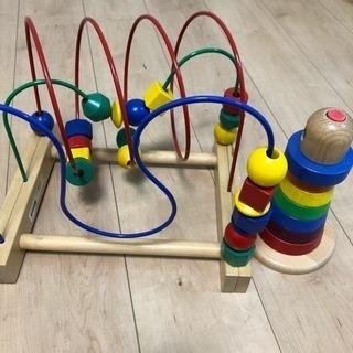 IKEA ビーズコースター スタッキングリング