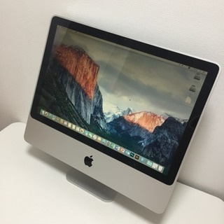 【L5610】極 ★良好★ サポート充実! 初心者OK! アップル A877 Apple iMac Core 2.0GHz 4GB 250GB 無線有線 Office2016 photoshop 一体型 デスクトップ PC パソコン - 川口市