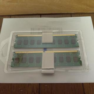 売ります。Komputerbay 2GBメモリ2枚組 DUAL デスクトップパソコン用 増設メモリ2枚組 DDR2 PC2-6300 PC2-6400 800MHz 240pin DDR-SDRAM DIMM − 千葉県