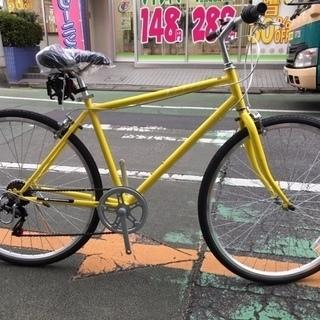 完売【アウトレット】700Cクロスバイク ジッピークロス