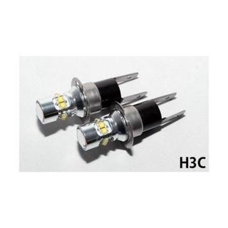 LEDフォグランプ H3C 12v 50w 6000k 2個セット