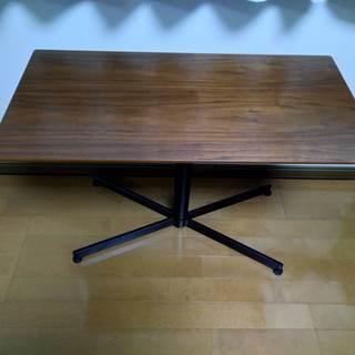 サイドテーブル カフェテーブル ソファテーブル ダークブラ…