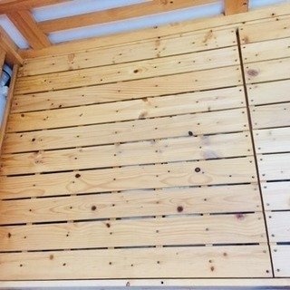 木製ベッド組立型(取りに来てくれる方限定)