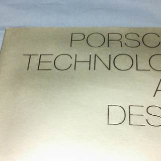 PORSCHE TECHNOLOGY AND DESIGN 19...